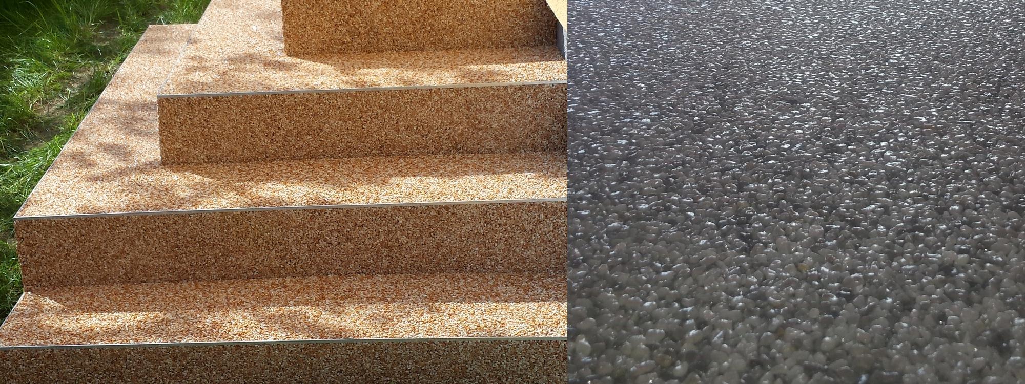Natursteinteppich